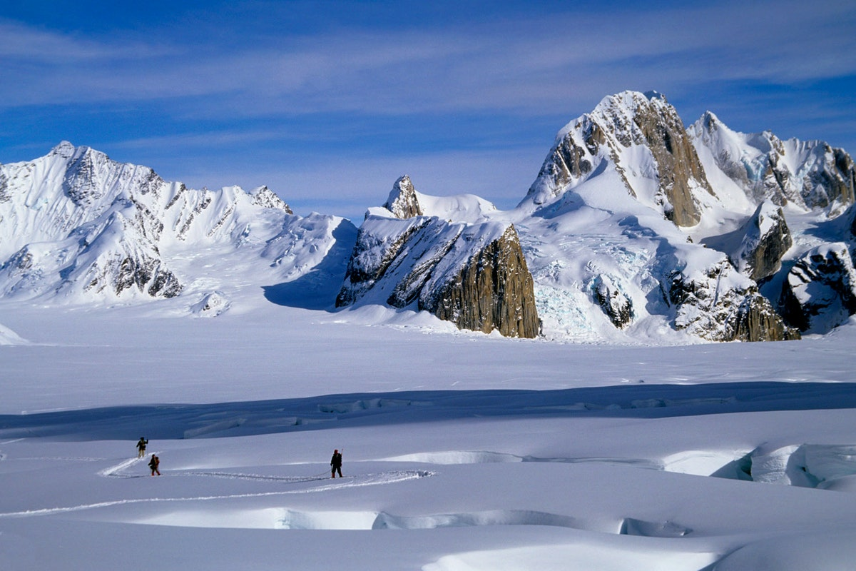 Alaska Range, Ruth Amphitheater, Alaska  № 1442055 загрузить