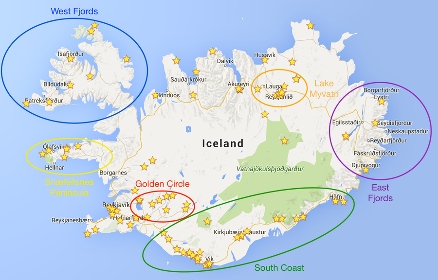 A comprehensive guide to planning a trip around icelands ring road picking your route sciox Gallery