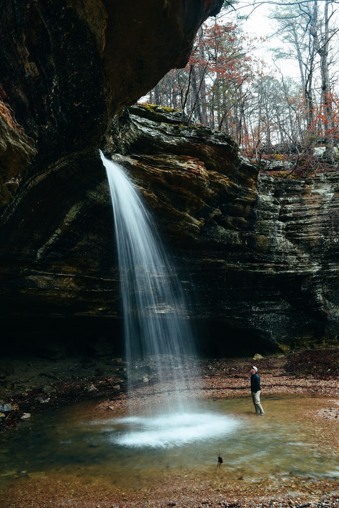 Check It Out During After A Heavy Rain To Witness The Falls Cut Through Limestone Bluff And Drop 46 Feet Into Its Emerald Pool Below