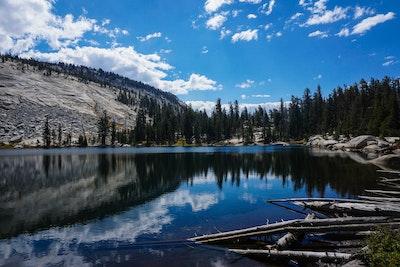 Backpack Sunrise Lakes To Clouds Rest Tenaya Lake Trailhead
