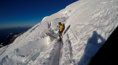 Climb Mt Rainier Via Disappointment Cleaver Paradise
