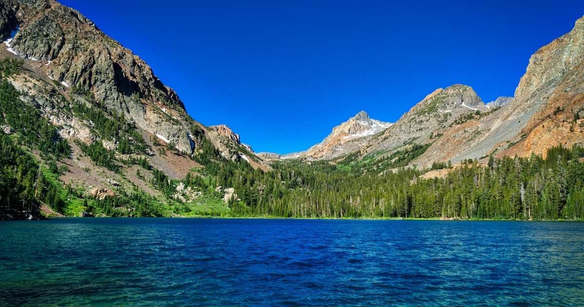 Backpack to Green Lake and Virginia Pass, Green Creek Trail