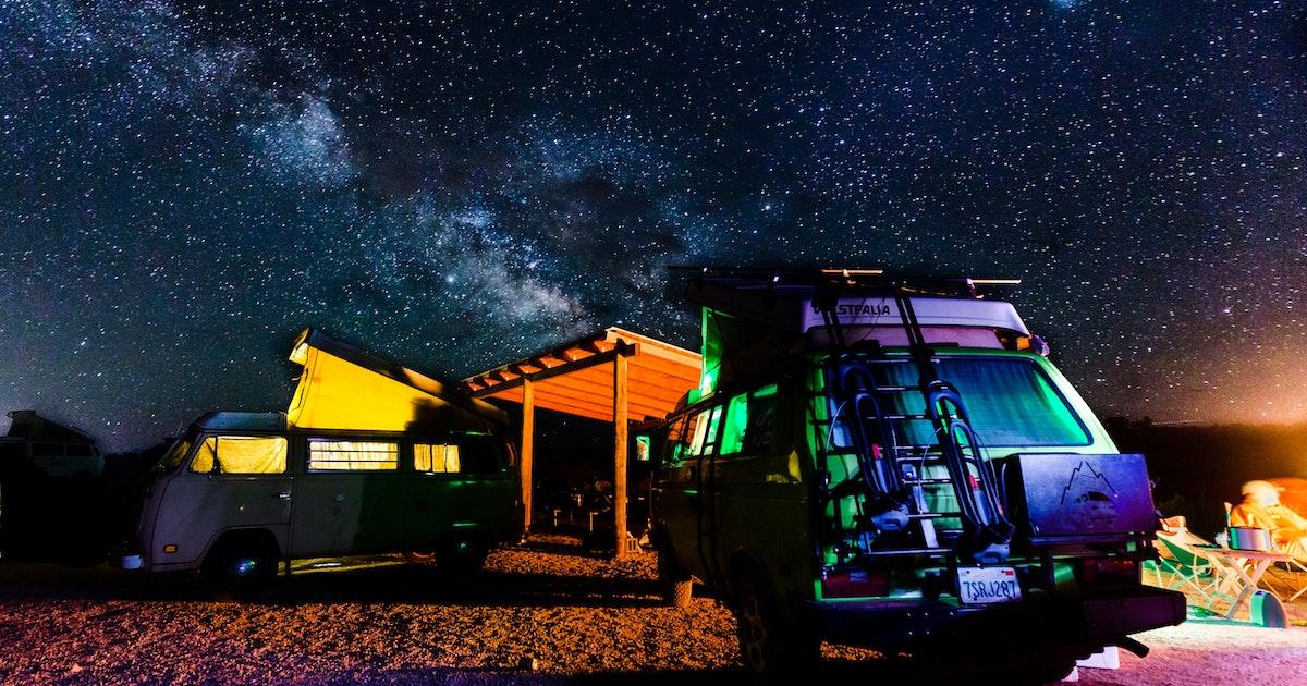 Camp at Lone Mesa Campground