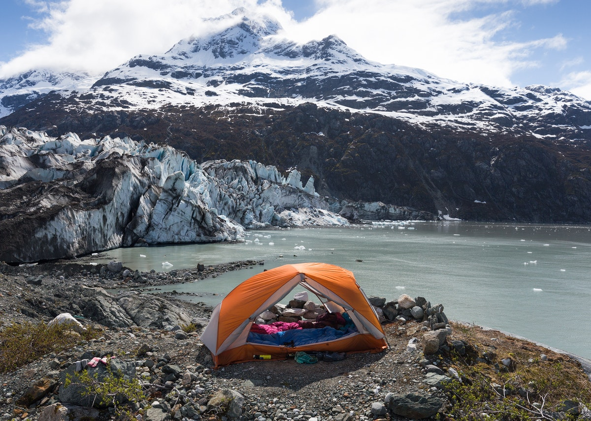 Kayak Camping the Pristine Backcountry of Glacier Bay's West Arm