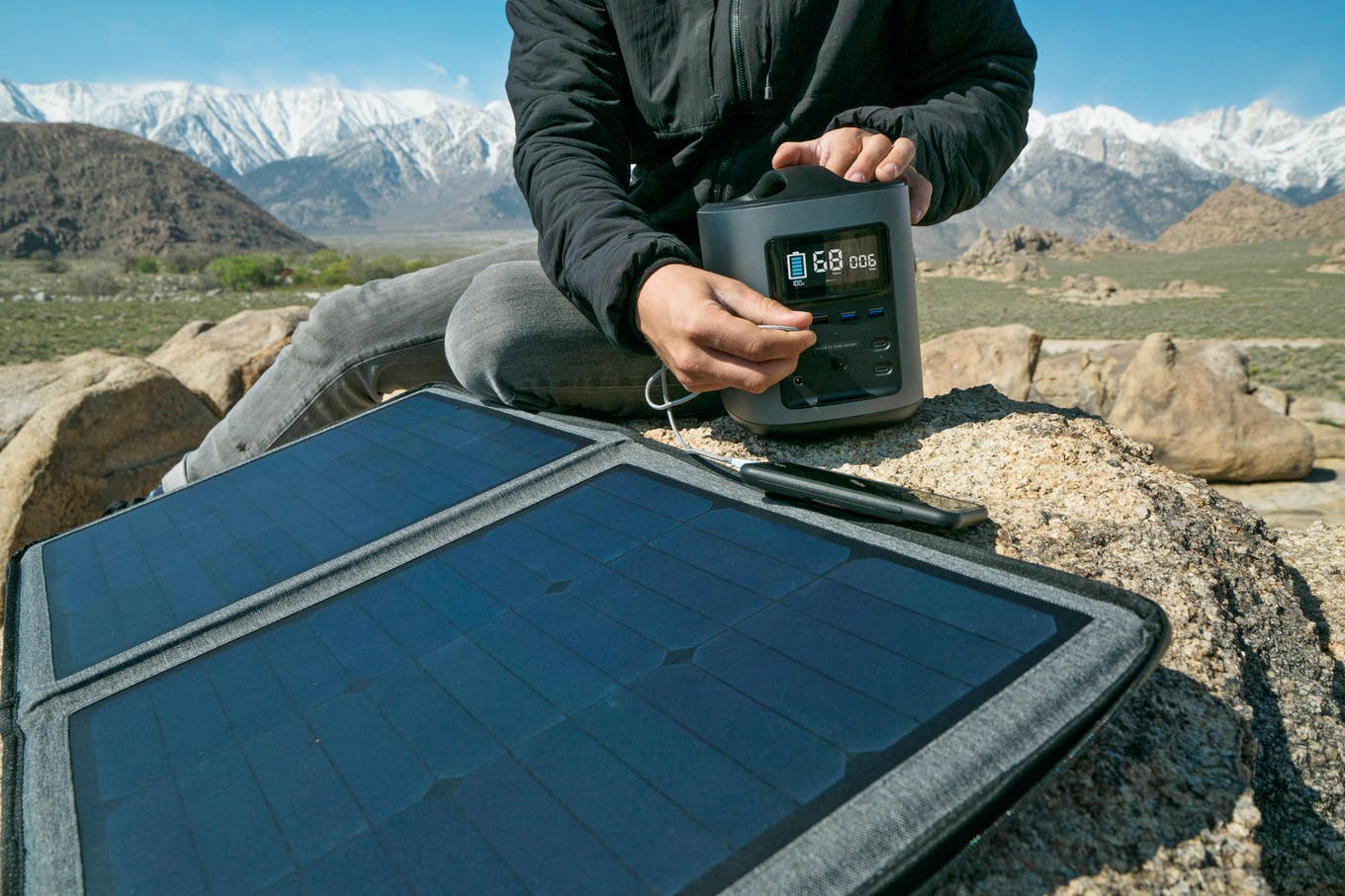 Off-Grid: How to Camp with Solar Power