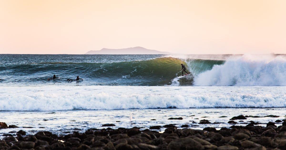 Surf Rincon Point, Rincon Point, California