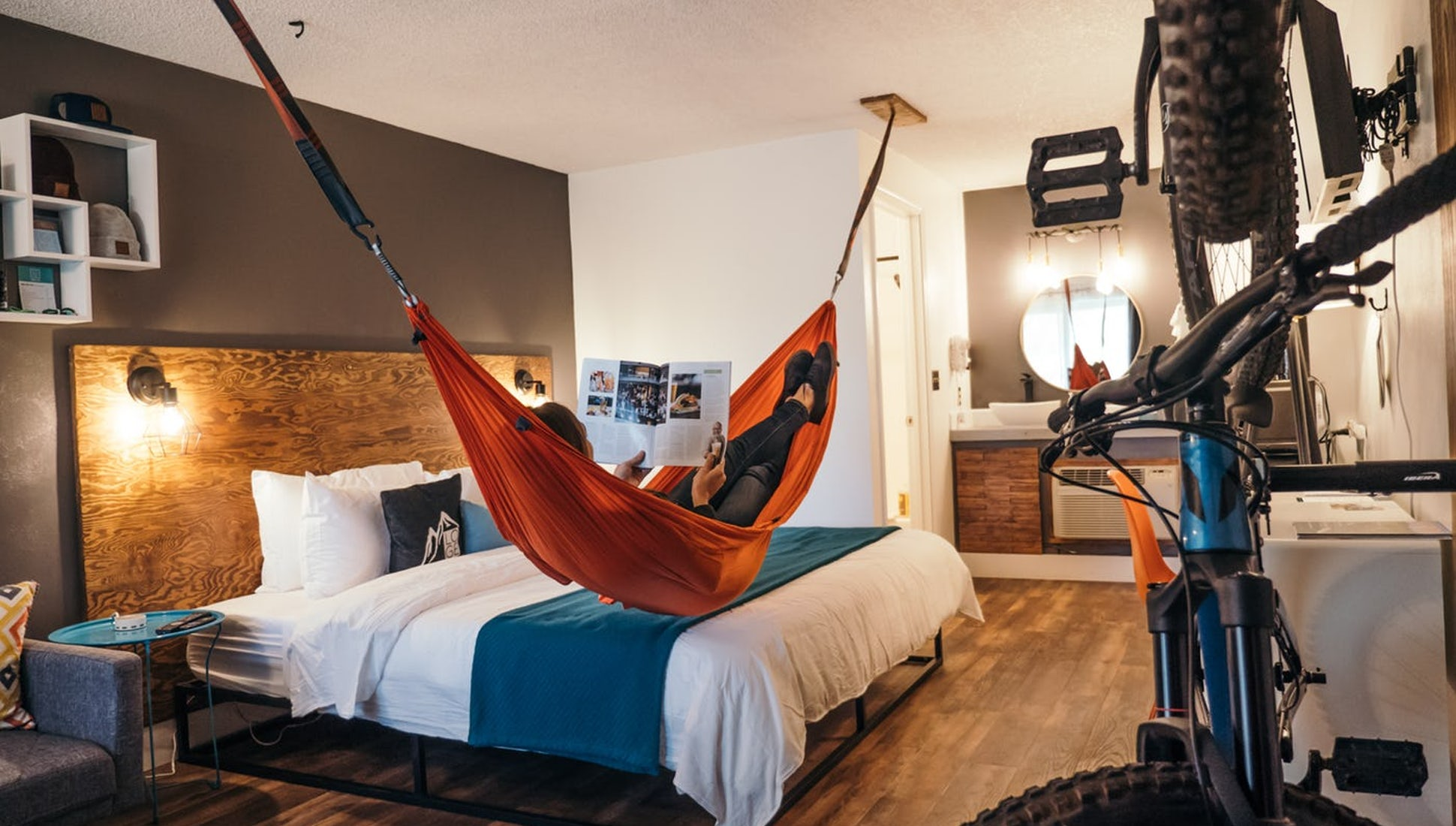 A Mountain Biker's Dream Hotel: LOGE Bend, Oregon