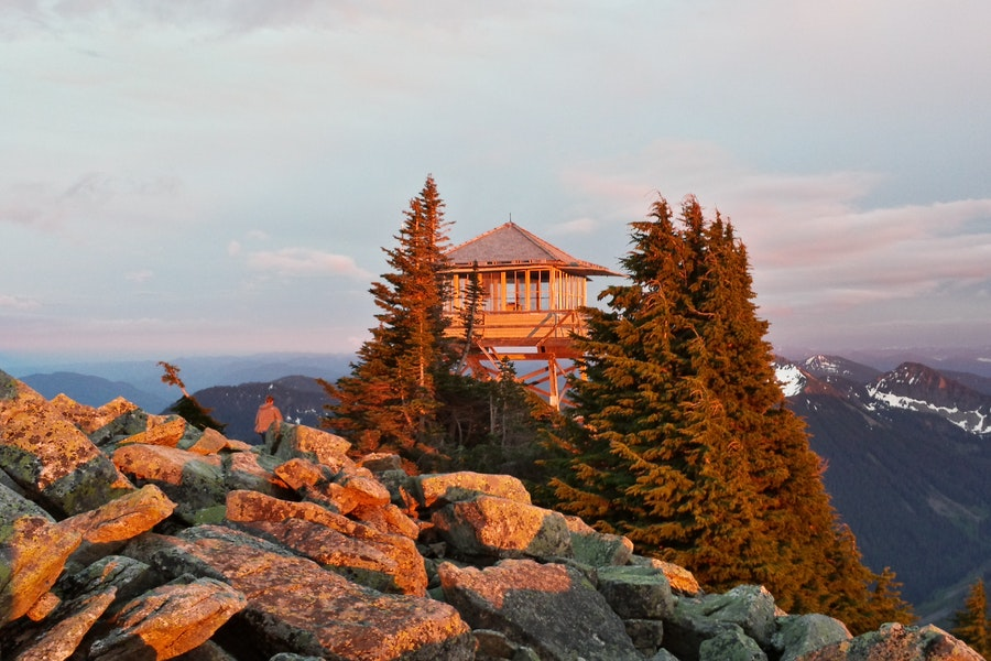 16 Scenic Fire Lookout Hikes