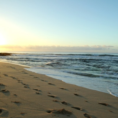 Bodysurfing At Sandy Beach Hawaii