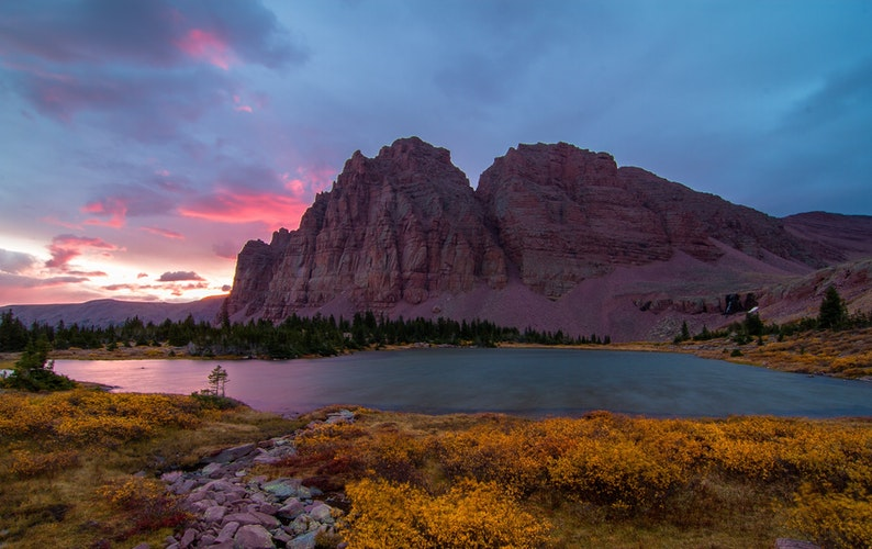 Backpack to Red Castle and Red Castle Lakes, Utah