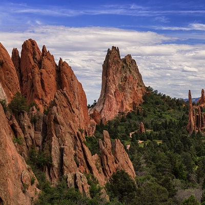 Climb And Hike In The Garden Of The Gods Palmer Trail Colorado Springs