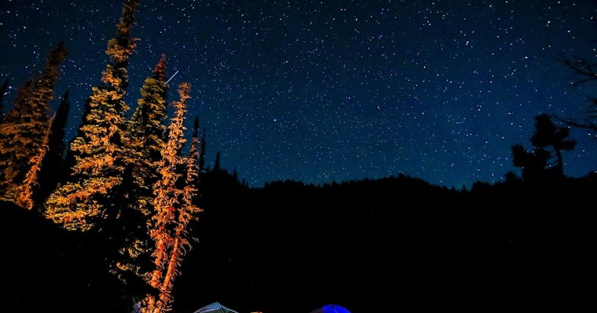 Camp at Blue Lake, Blue Lake Trailhead, Idaho