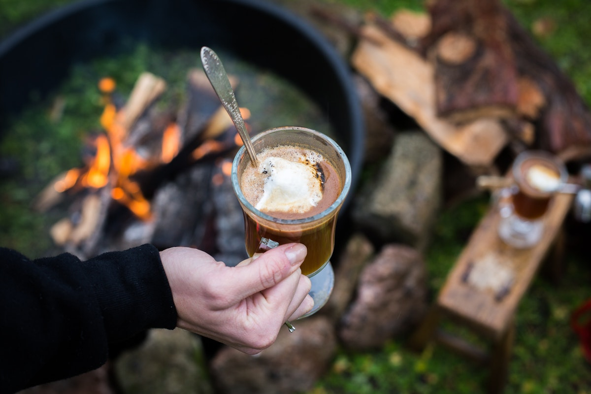 Hot Buttered Rum to Warm Your Bones While Winter Camping