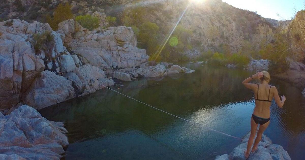 Hike To Deep Creek Hot Springs Bowen Ranch