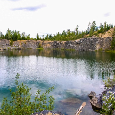 Swim at The Rock Quarry,