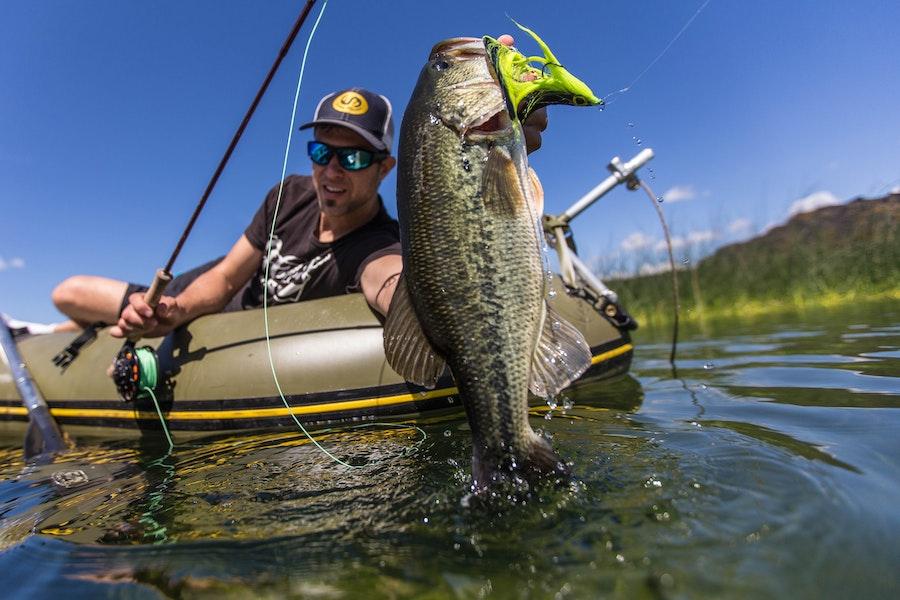 Fly fishing on davis lake oregon for Bass fishing oregon