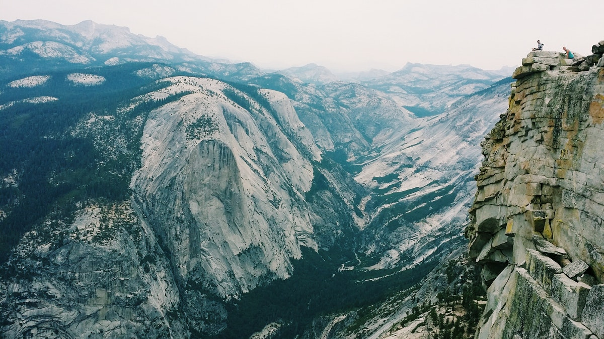 Backpack To Little Yosemite Valley Campsite And Hike Half