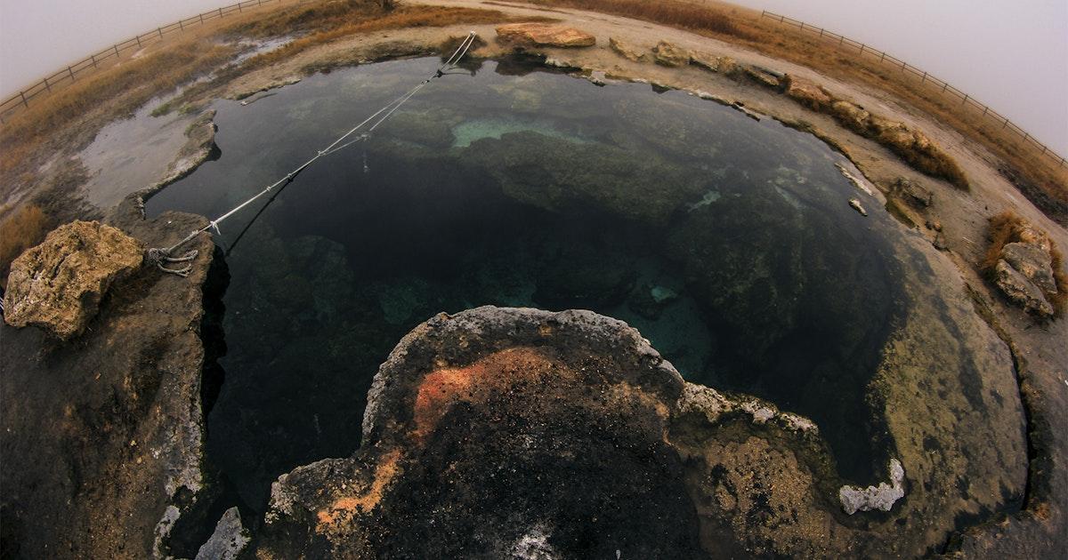 Take A Dip In The Meadow Hot Springs Utah