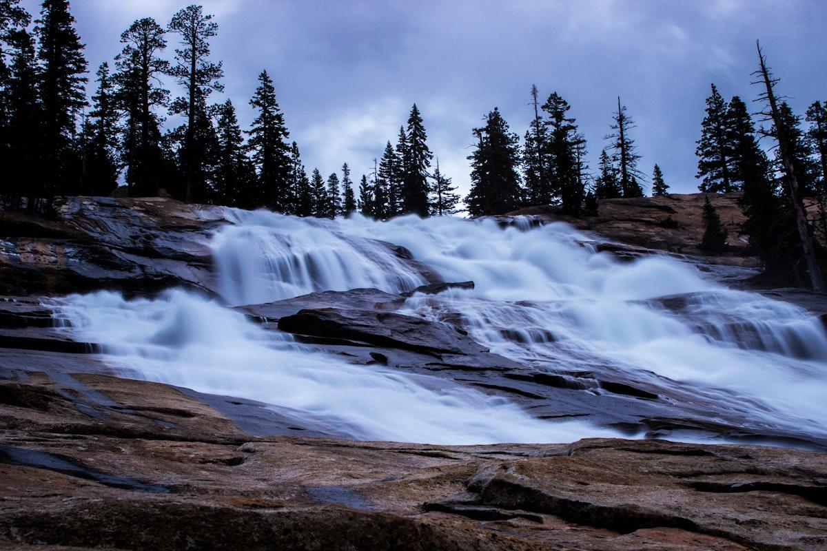 Hike To Waterwheel Falls Yosemite