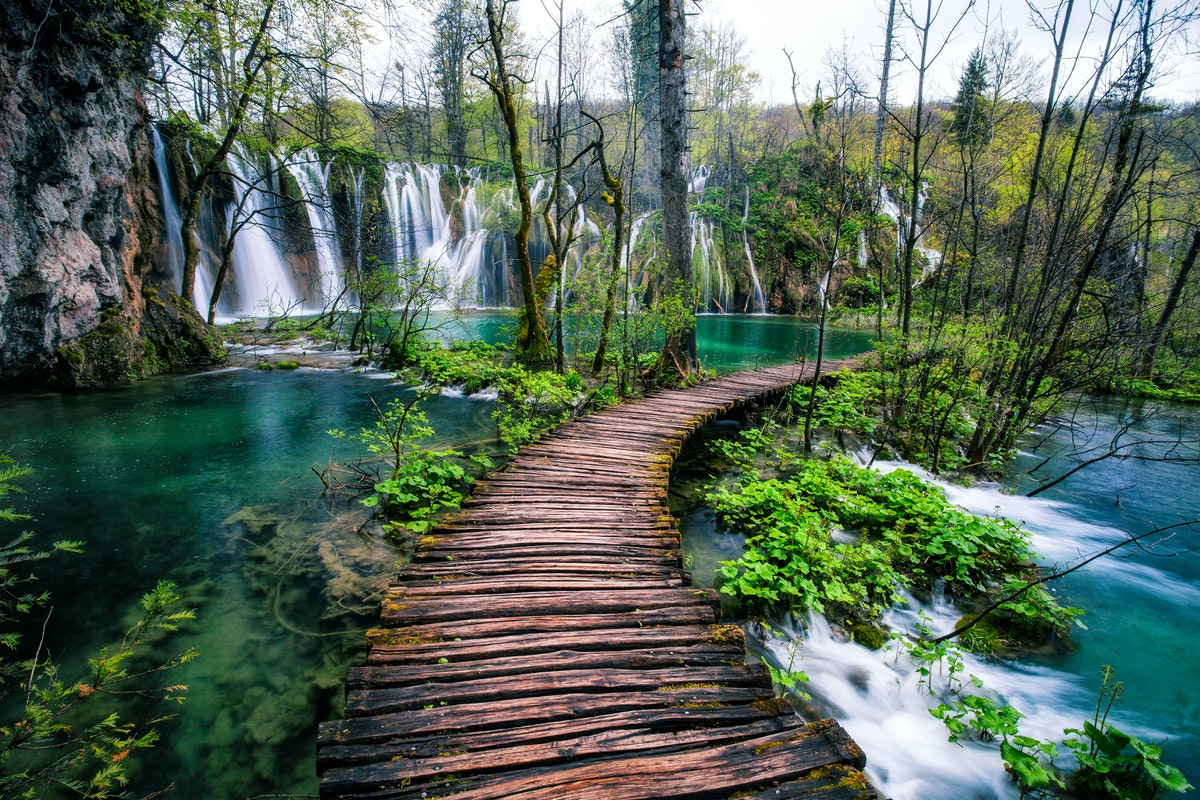 Hike in Plitvice Lakes National Park