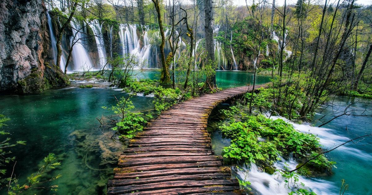 Hike In Plitvice Lakes National Park Plitvice Lakes