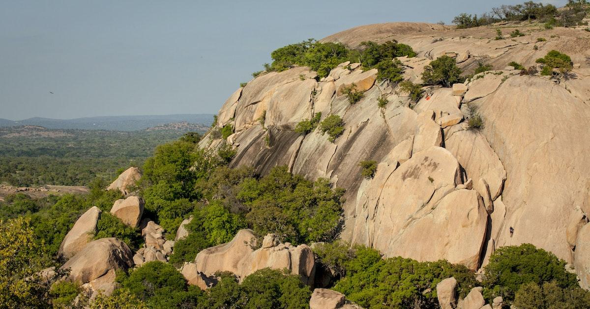 Hike to Enchanted Rock, Fredericksburg, Texas