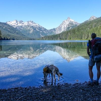 Backpack to Spade and Venus Lakes, Washington