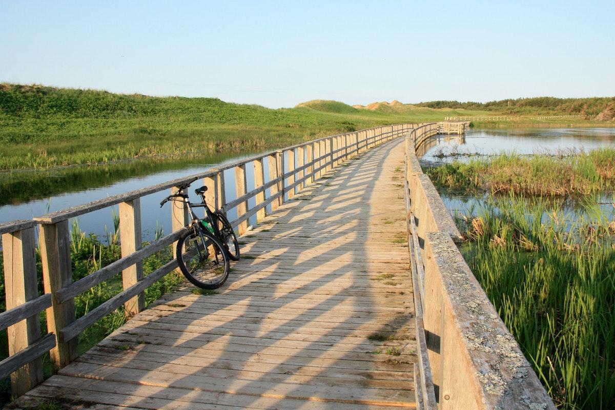 Bike Prince Edward Island S Gulf Shore Way West Gulf