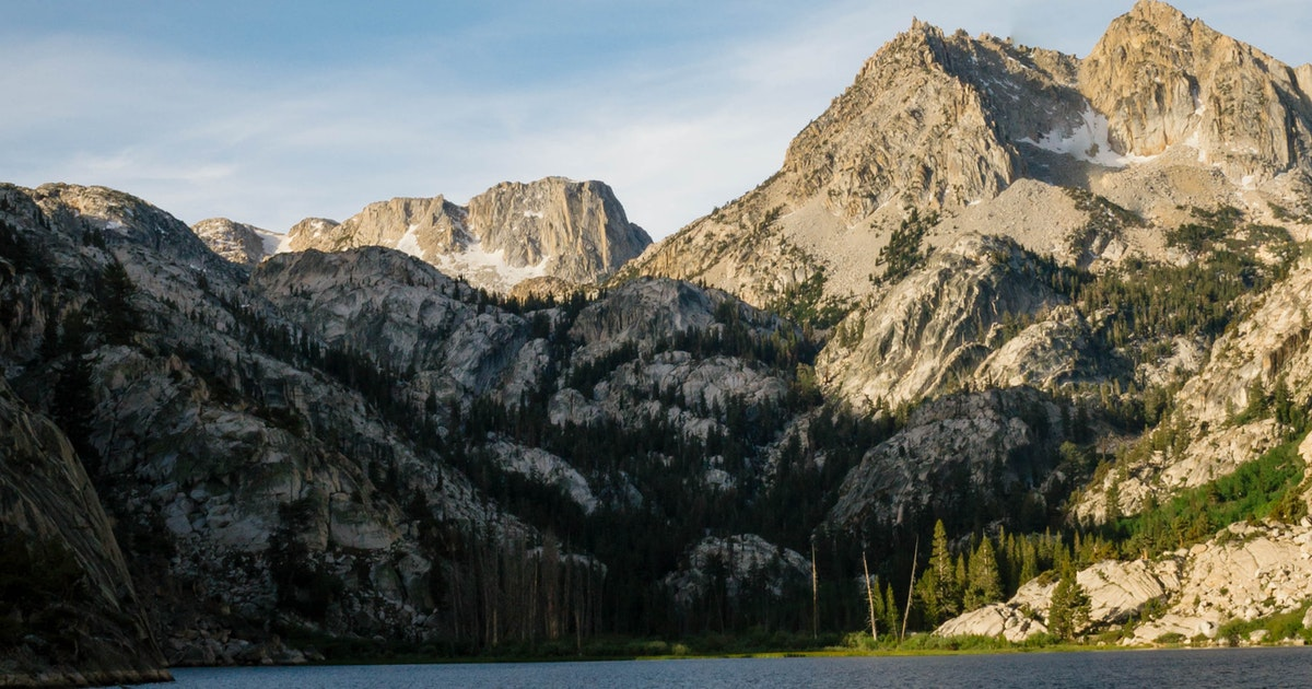 Hike to Peeler Lake, Twin Lakes Campground