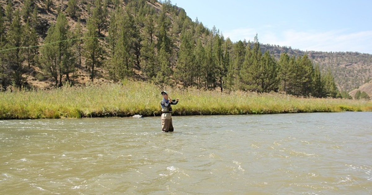 Fly fish crooked river oregon for Prineville reservoir fishing