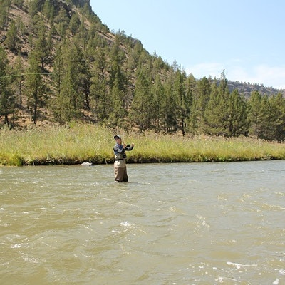 Fly fish crooked river prineville reservoir state park for Prineville reservoir fishing