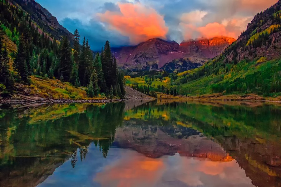 The 6 best spots for fall foliage in colorado huffpost maroon bells sciox Choice Image