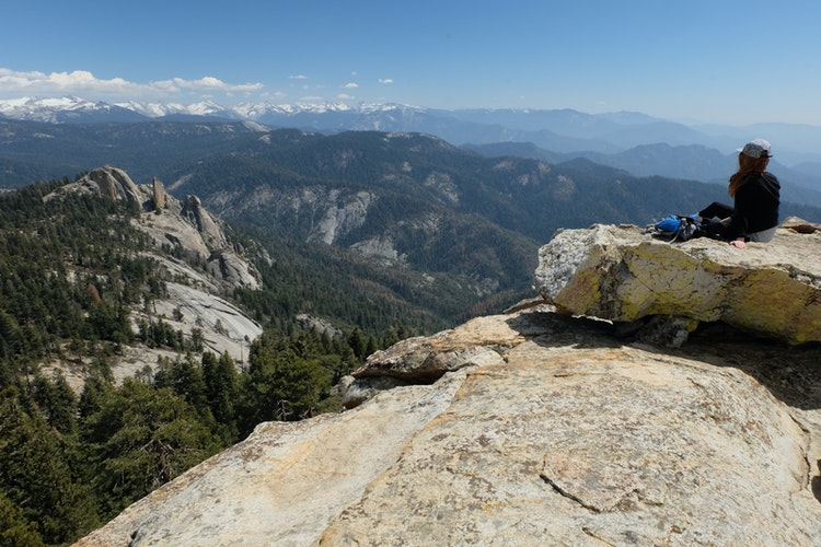 Hike To The Summit Of Big Baldy Kings Canyon National
