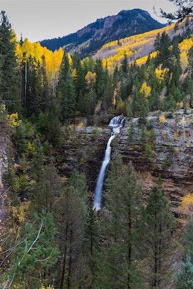 Hike To Mystic Falls CO Colorado - Colorado waterfalls map