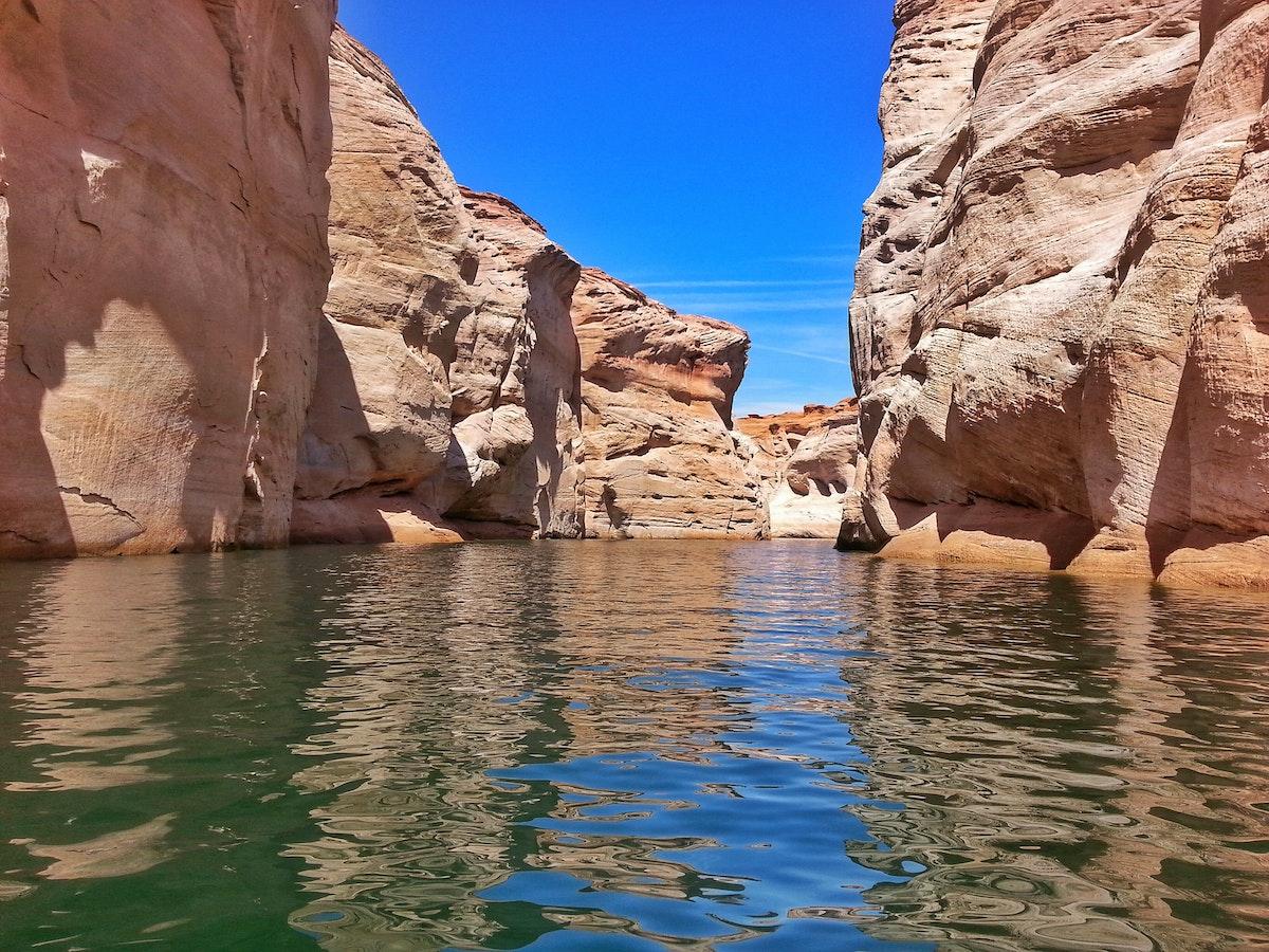 Kayak Antelope Canyon