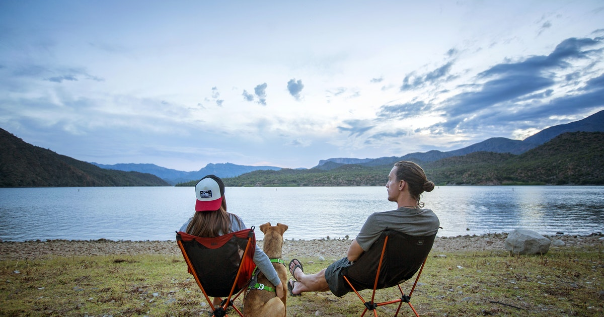 Camp at burnt corral campground on apache lake burnt for Apache lake fishing