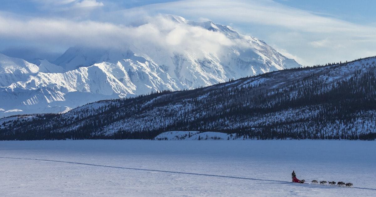 Winter Camp at Wonder Lake, Denali National Park and ...