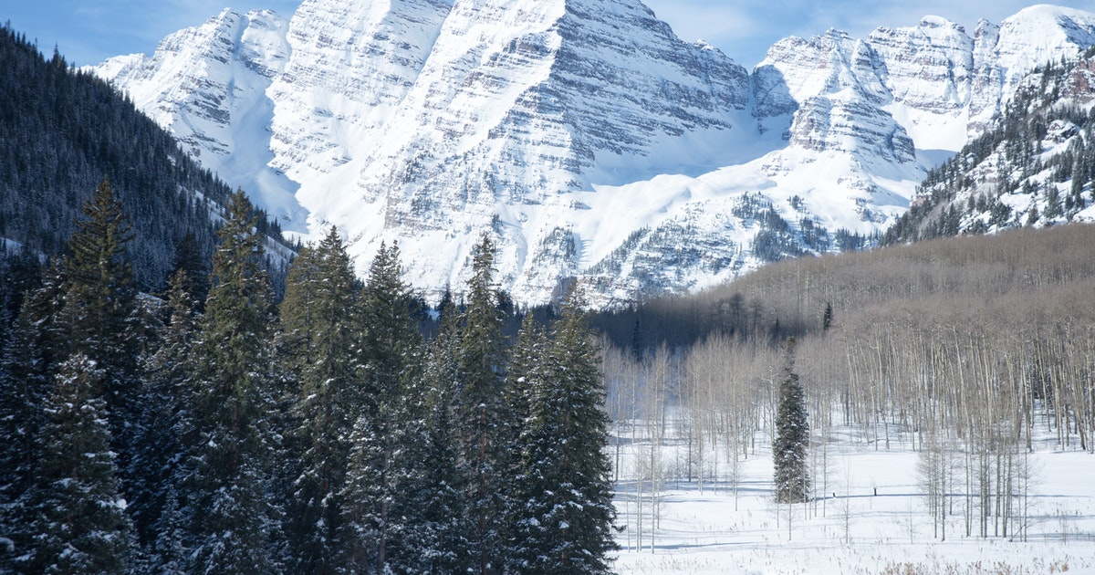 Ski Or Snowshoe To The Maroon Bells T Lazy 7 Ranch