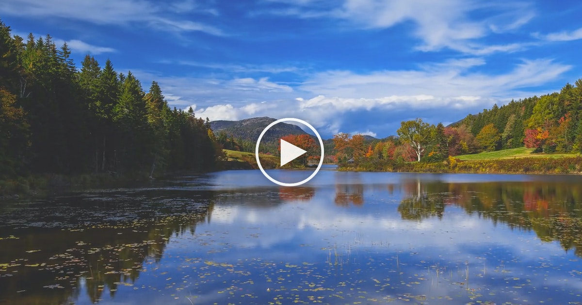 Incredible Footage Of Acadia National Park In Autumn