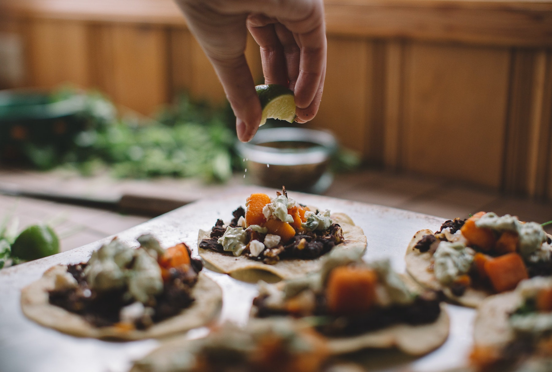 Fuel For The Weekend: Butternut Black Bean Tostadas