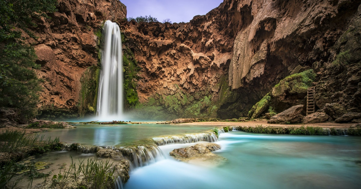 Hike to Mooney Falls, Supai, Arizona
