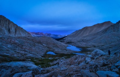 Backpack From Onion Valley To Mt Whitney Onion Valley