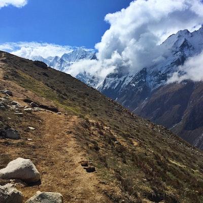 Backpack The Langtang Valley Trek Langtang Valley Trailhead