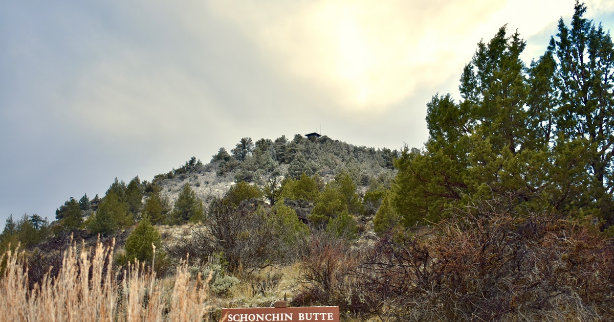 Hike the Schonchin Butte Trail in Lava Beds National