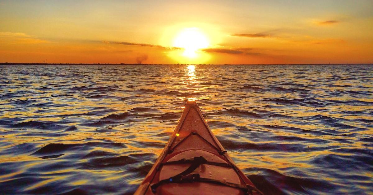 Ac Auto Parts >> Kayak at Lake Hefner , Lake Hefner Beach
